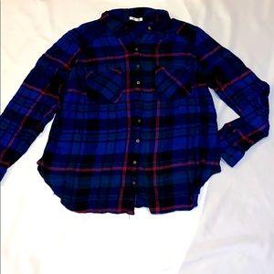 Maurices plaid shirt